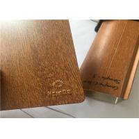 Best No Pollution Wood Grain Powder Coating , Sublimation Wood Textured Powder Coat wholesale