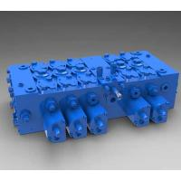 China Full Load - sensitive Directional electric hydraulic valve for scrapers, paving machines on sale