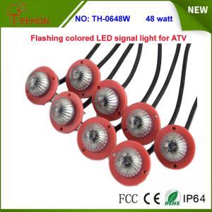 Best 48w Multi color Flashing LED signal warning light for ATV,UTV, SUV, Buggy, Rhino, RZR wholesale