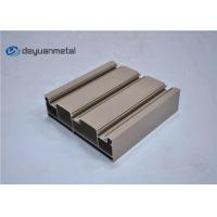 Best Standard Tan Powder Coating Aluminum Extrusions Shapes With Alloy 6063-T5 wholesale