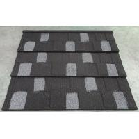 Cheap Black - white Shingle Roof tile - Colorful Stone coated metal roof tile for sale