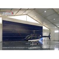 Best High Reinforce  Aluminum Frame Aircraft Hangar Tent for Helicopter wholesale