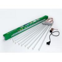 Buy cheap Snow Falling LED Meteor Lights White / Warm White 100 - 240v 50cm 10 Tubes from wholesalers