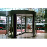 Best Aluminum alloy frame Tempered Glass Arc Automatic Door with show case wholesale