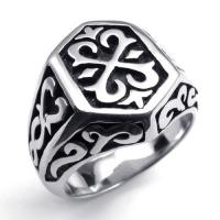 Best Tagor Jewelry Super Fashion 316L Stainless Steel Casting Rings Collection PXR035 wholesale
