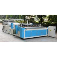 China Embossed Rewinding Toilet Roll Production Line from Big Jumbo Roll on sale