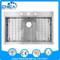 Best factory directly supply stainless steel handmade sink with USA popular import style wholesale