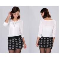 Best Lady Knitted Skirt Sweater Fashion Garment (A3EOS7D) wholesale