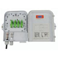 Best Outdoor 8 Port Wall Mounted Fiber Optic Terminal Box / FTTH Distribution Box wholesale