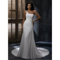 Best White chiffon wedding dress wholesale