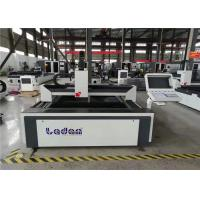 China Acceleration 1g Steel Plate Laser Cutting Machine 700W - 2000W High Power on sale