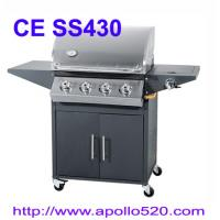 Best 4 Burner Barbecue with side burner wholesale