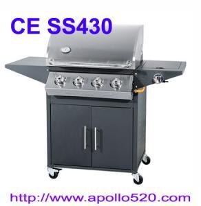 Best 4 Burner Barbecue with side burner wholesale