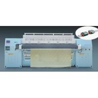 China Double Needle Bar Lock Stitch Quilting Machine For Blanket Sofa Cushion on sale