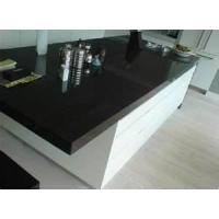 China 25mm Eased Edge Artificial Granite Solid Surface artificial marble kitchen countertop on sale