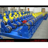 Buy cheap Wind Tower Assembly And Fit Up Welding Turning Rolls / Turning Bed Rotator with PU Roller product