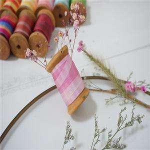 Best 7mm 134-132-117#  variegated silk ribbon,multicolor ribbon,rainbow 100% silk ribbon,ribbon,embroidery ribbon wholesale