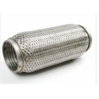 Best 64 X 90mm Auto Exhaust Flexible Pipe With Interlock 444 + 409L Material wholesale