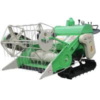 Buy cheap Rice and Wheat Full Feeding Combine Harvester 4LZ-0.9L product
