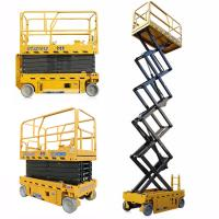 China 3kw 12m GTJZ1012 Electric Auto Scissor Lift  / Aerial Work Platform on sale