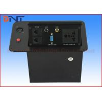 Buy cheap Pop Up Hidden Desktop Power Sockets For Conference Room Table AV Solutions product