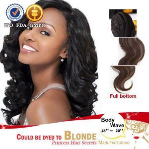 Best 100% Weft Huma Hair Virgin Brazilian Bundle Hair Remy Weave Extension wholesale