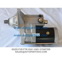 China Brand New ISUZU Starter Motor For ISUZU FVR FTR 6SA1 6SD1 24V on sale