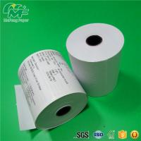 Best Dust Free Credit Card Terminal Paper Rolls High Performance Nontoxic Tight Rolling wholesale