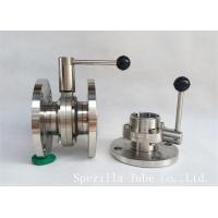 "Best 1"" TP316L Sanitary Stainless Steel Valves And Butterfly Vavles ASTM A270 wholesale"