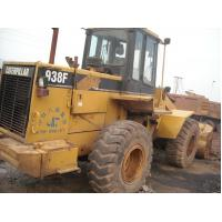 China ROPS Second Hand Wheel Loaders CATERPILLAR 938F , Front End Loader For Tractor on sale