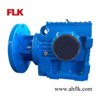 Best S series helical worm gear reducer motor/electric motor reduction gearbox wholesale