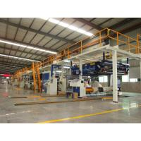 Best Corrugated Cardboard Making Machine 1600mm Two Layer Stable Operation wholesale