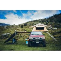 Best Outdoor Car Roof Shade Awning , Roof Rack Shade Awnings For 4x4 Vehicles wholesale