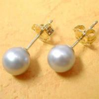 Best Two Elegant Fresh Water Pearl Eardrop wholesale