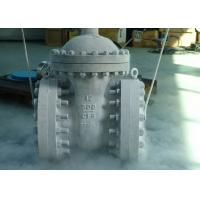China Class 150 - 1500 Cryogenic Control Valve Full Stellite Overlay Seat Sealing Surface on sale