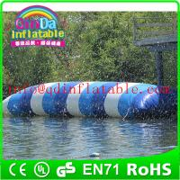 Best inflatable water game jump water blob for water park theme inflatable jumping pillow wholesale