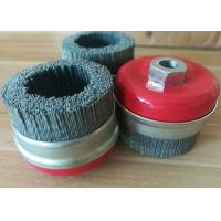 Best Industrial Silicon Carbide Nylon Filament Cup Brush M14 * 2.0 Nut Size wholesale