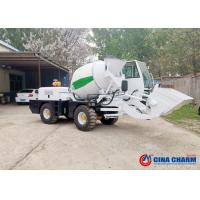 Best 2 Cubic Meter Batch Type Self Loading Concrete Mixer High Speed Productivity wholesale