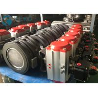 Best WCB CF8 CF8M High Performance Butterfly Valves Penumatic Actuator Two Offset wholesale