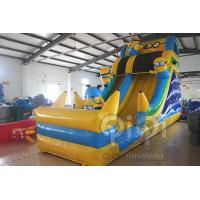 Best Minion Inflatable Slide With Pool wholesale