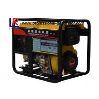 China Air - Cooled Direct Injection 5kw Small Diesel Portable Generator with AVR on sale