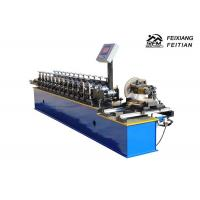 Best Aluminum Steel Roller Shutter Door Roll Forming Machine FX98 With Fly Saw wholesale