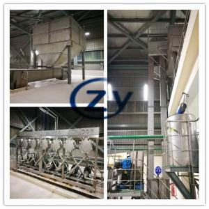 Best Complete Set Yam Starch Production Line / Cassava Starch Making Machine wholesale