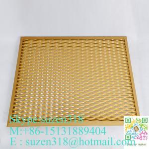 Best expandable sheet metal diamond mesh / 1.22 x 2.44 m expanded metal wholesale