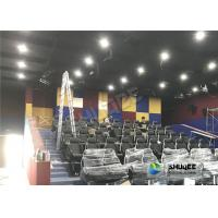 Best Unique Dynamic 5D Simulator With Genuine Leather 5D Durable Electric Seats And Professional Decoration wholesale