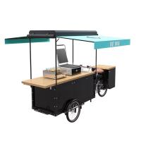 Best Classical Scooter  Food Trailer , Cargo Scooter  Food Cart For Burger Vending wholesale