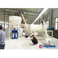Best Ceramic Tile Adhesive Dry Mortar Mixer Machine 2 - 5T / H Capacity Small Size wholesale