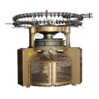 China Auto Shearing Double Jersey Circular Knitting Machine , High Pile Loop Circular Knitting Machine on sale