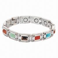 Best Health Magnetic Bracelet, Energy Balance, Bracelets with Measures 7.5 to 8.5-inch wholesale