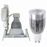 China 10W GU10 COB LED Downlight Kit, 580lm Luminous Flux and with SAA and C-tick Approved, Dimmable on sale